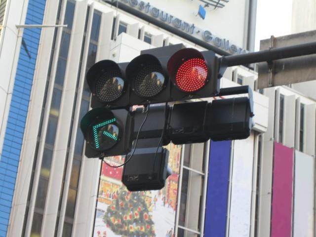 <矢印付き信号機>photo by wikipedia