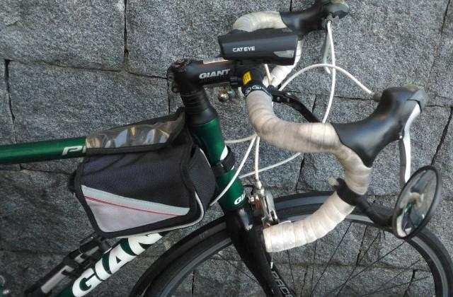 ロードバイク フレームバッグ