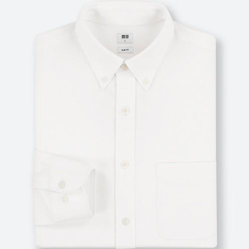 <イージーケアコンフォートシャツ>photo by uniqlo