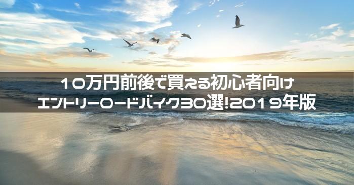 自転車通勤向け!10万円前後のエントリーロードバイク30選!2019年版