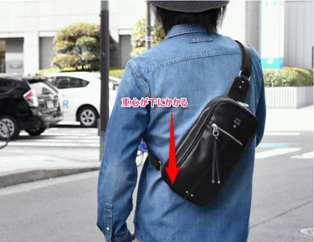 ズレないタイプのバッグ<出典:SUPER FROG>