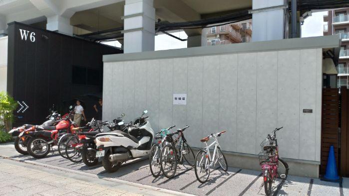 東京ミズマチ 駐輪場