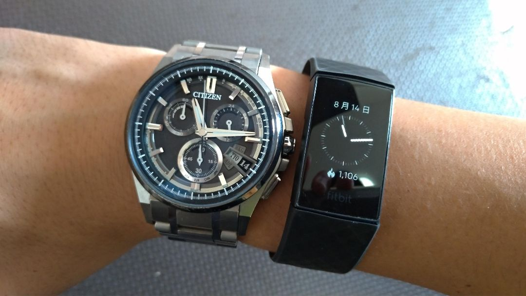 普通の腕時計との比較