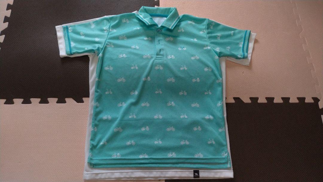 ↑下に重ねているシャツがポケTです